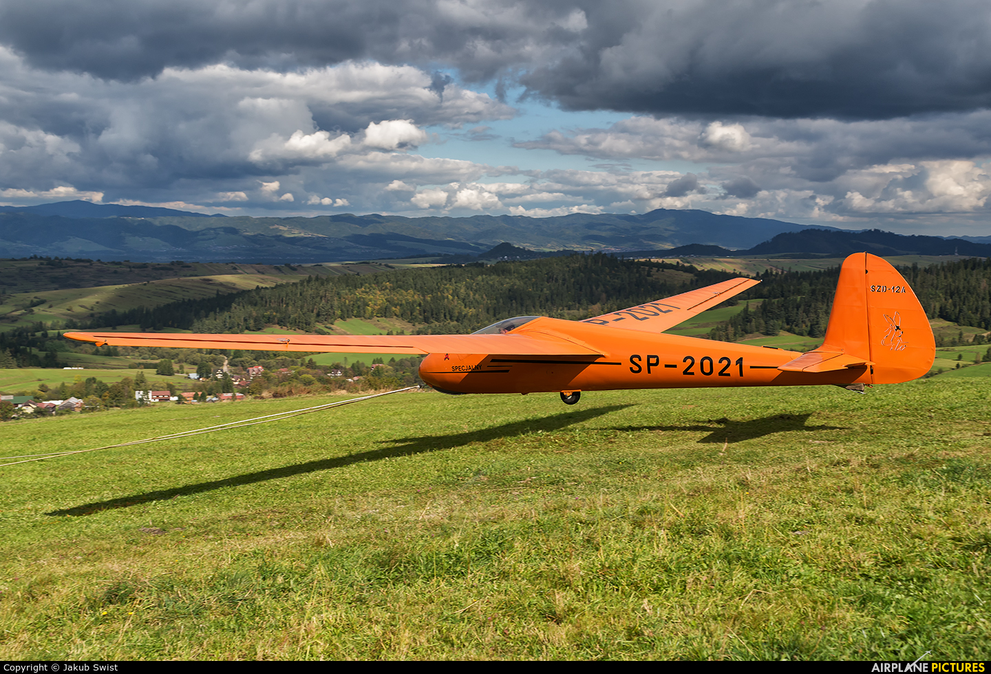 Private SP-2021 aircraft at Off Airport - Poland