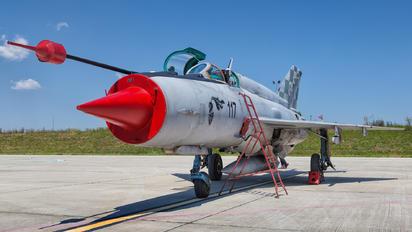 117 - Croatia - Air Force Mikoyan-Gurevich MiG-21bisD