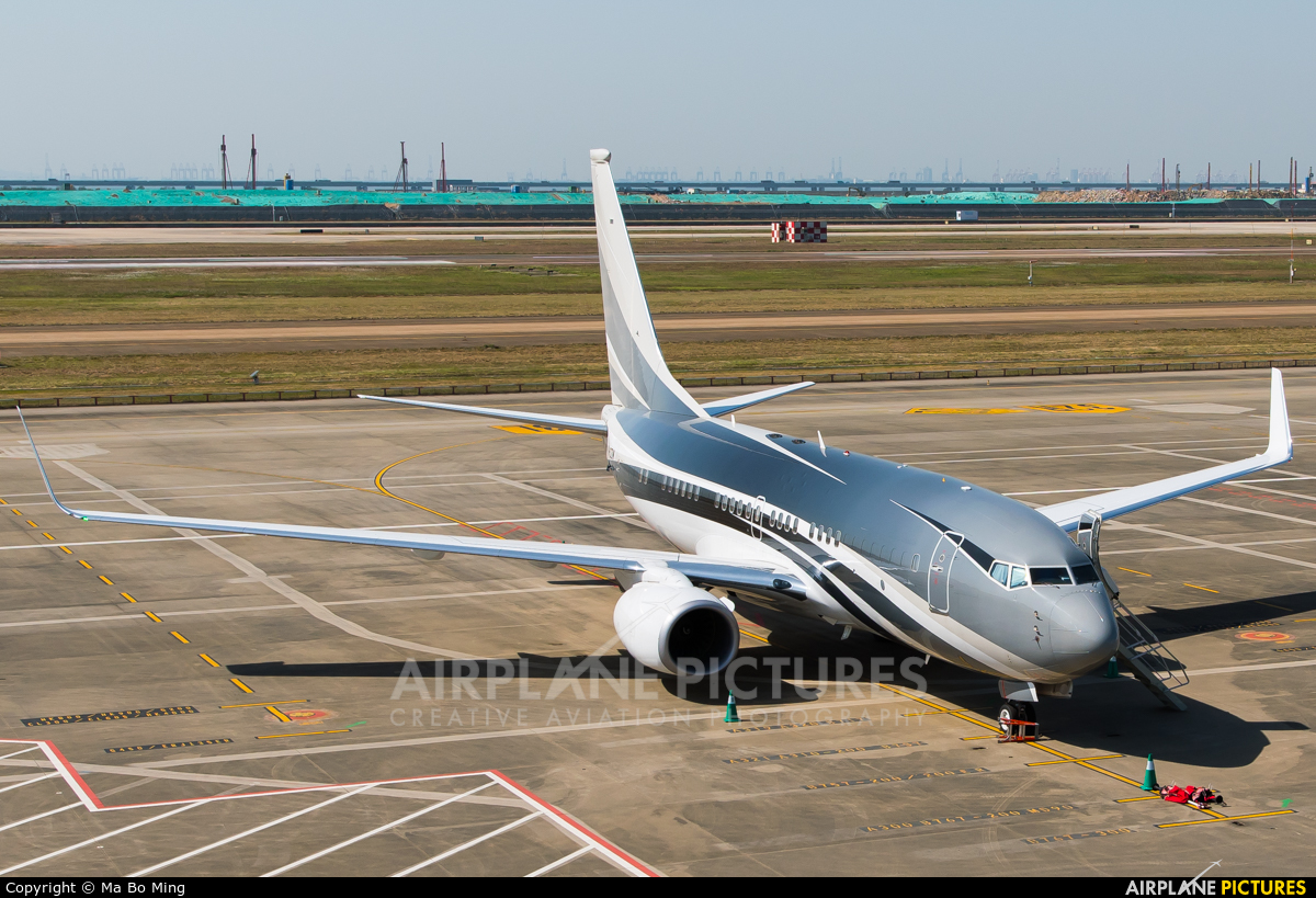 Unknown VP-CZW aircraft at SHENZHEN BAO'AN  int'l airport