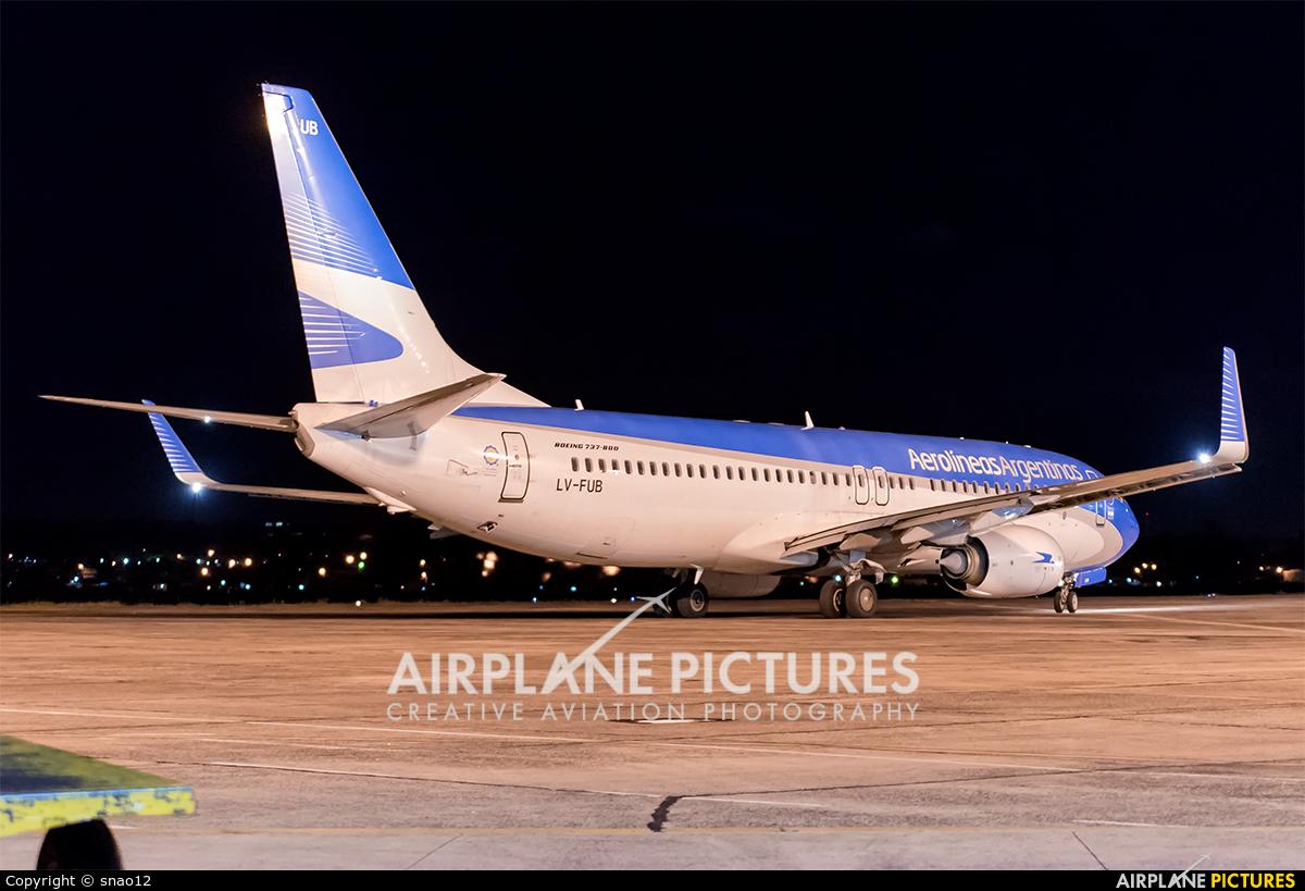 Aerolineas Argentinas LV-FUB aircraft at Asuncion - Silvio Pettirossi Intl