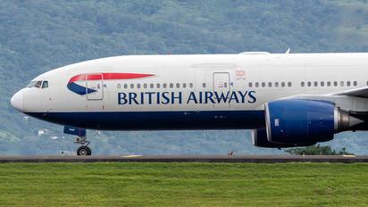 G-YMMF - British Airways Boeing 777-200