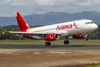 N496TA - Avianca Airbus A320