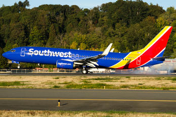 N8583Z - Southwest Airlines Boeing 737-800