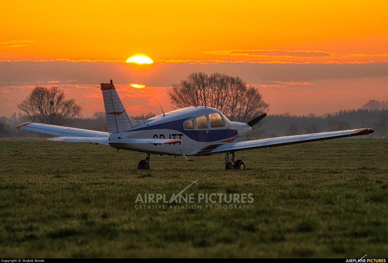 Private SP-ITT aircraft at Wrocław - Szymanów