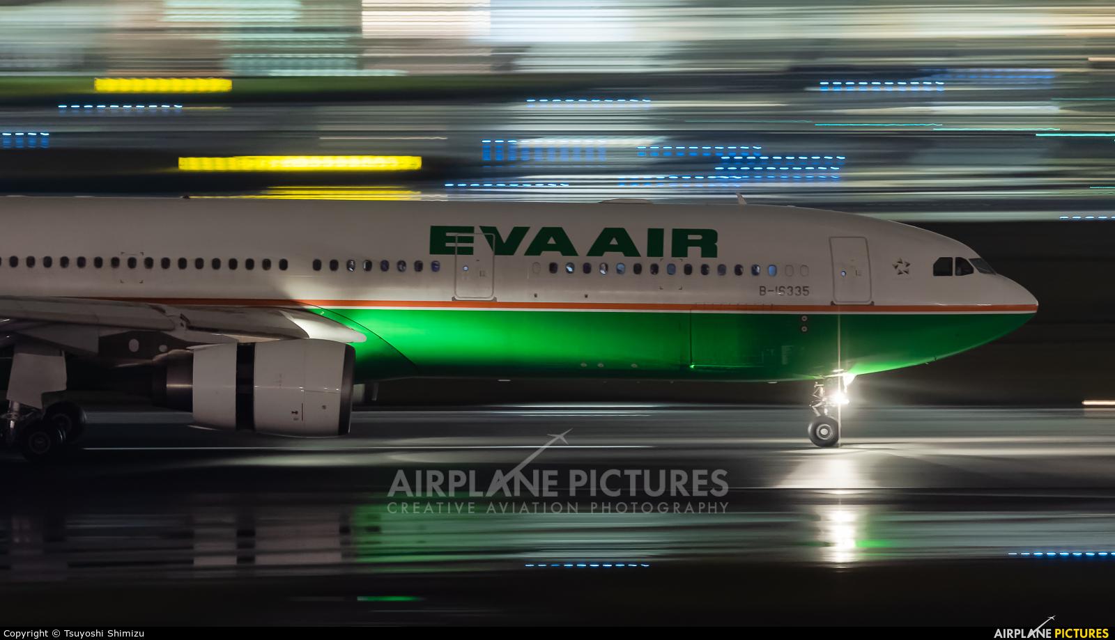 Eva Air B-16335 aircraft at Tokyo - Haneda Intl
