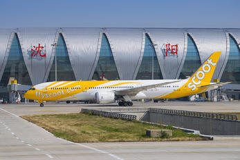 9V-OJB - Scoot Boeing 787-9 Dreamliner