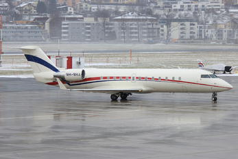 9H-BVJ - Private Canadair CL-600 Challenger 850