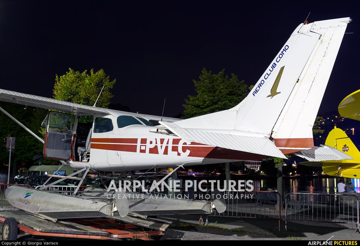 Private I-PVLC aircraft at Como Idroscalo