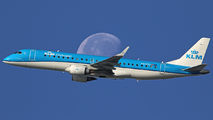 PH-EZL - KLM Cityhopper Embraer ERJ-190 (190-100) aircraft