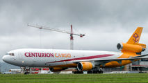 Rare visit of Centurion Air Cargo MD-11F to San Jose title=