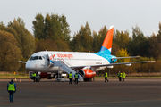 First regular flight between Moscow and Pskov by Azimuth  title=