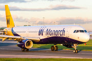 G-ZBAK - Monarch Airlines Airbus A321 aircraft