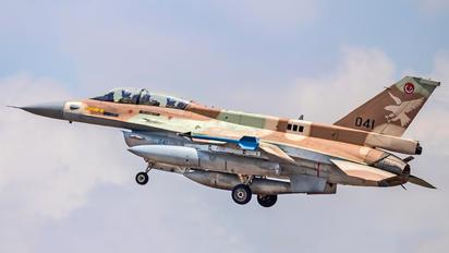 041 - Israel - Defence Force General Dynamics F-16D Barak