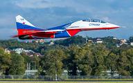 "RF-92804 - Russia - Air Force ""Strizhi"" Mikoyan-Gurevich MiG-29UB aircraft"