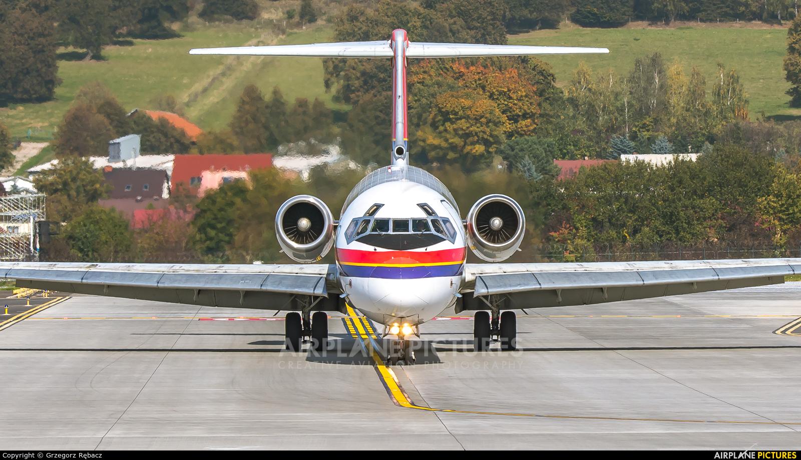 Danish Air Transport OY-RUT aircraft at Kraków - John Paul II Intl