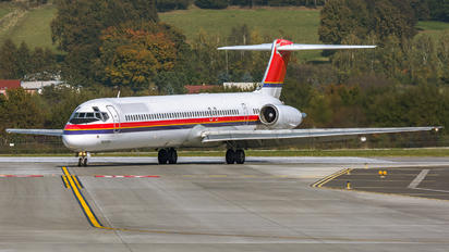 OY-RUT - Danish Air Transport McDonnell Douglas MD-82