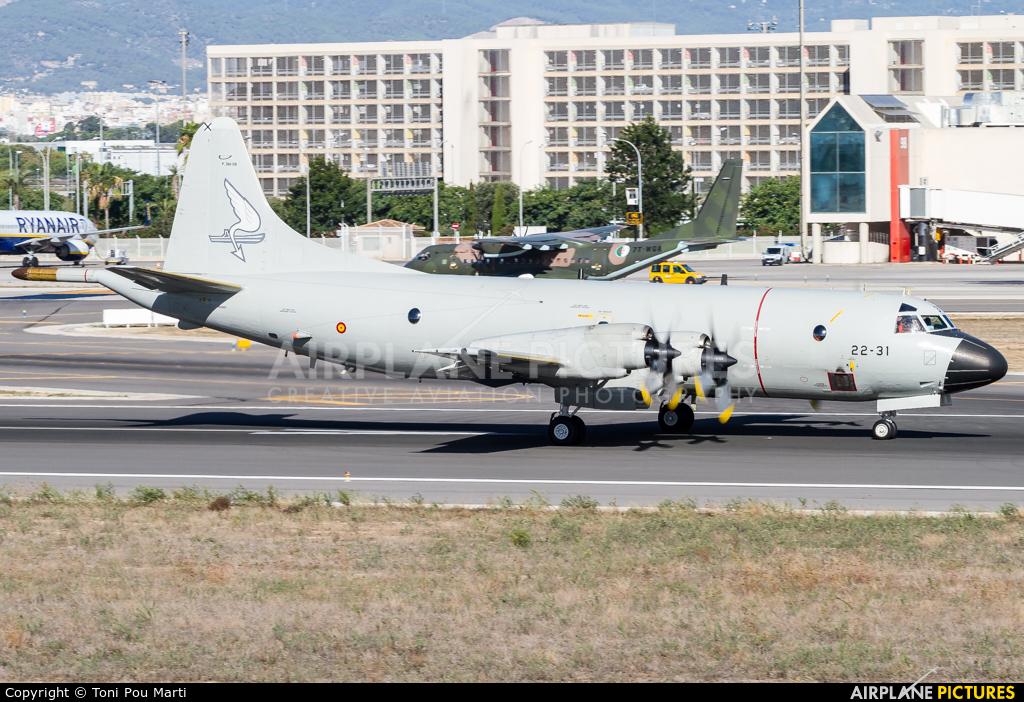 Spain - Air Force P.3B-08 aircraft at Palma de Mallorca