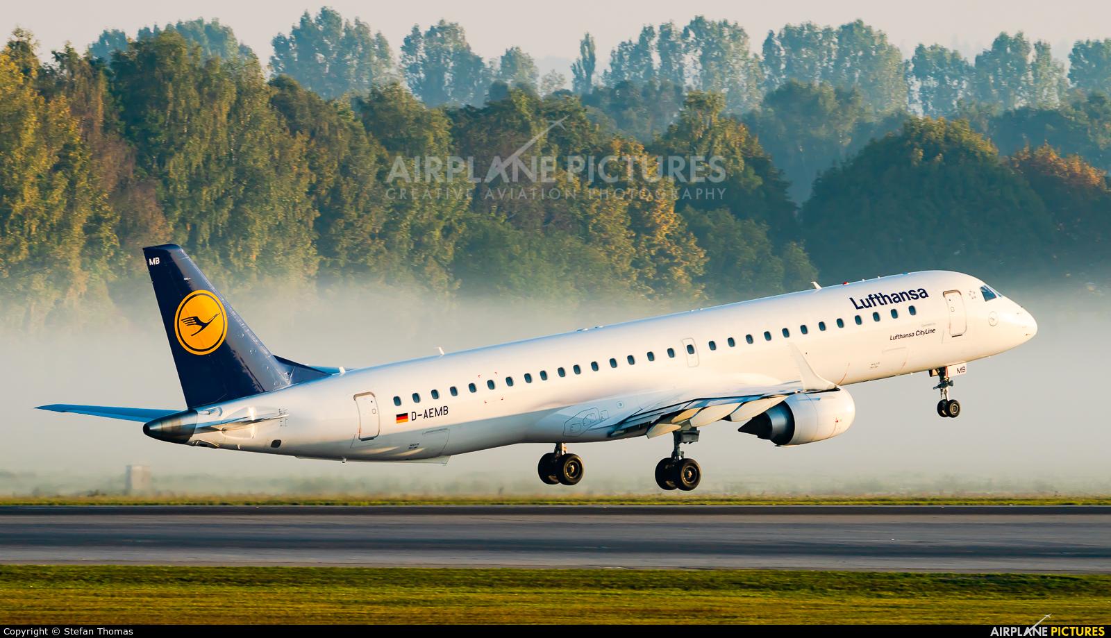 Lufthansa Regional - CityLine D-AEMB aircraft at Munich