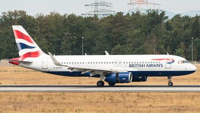 G-EUYR - British Airways Airbus A320