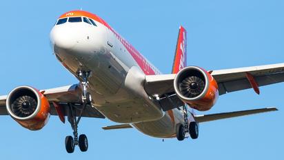 G-UZHO - easyJet Airbus A320 NEO