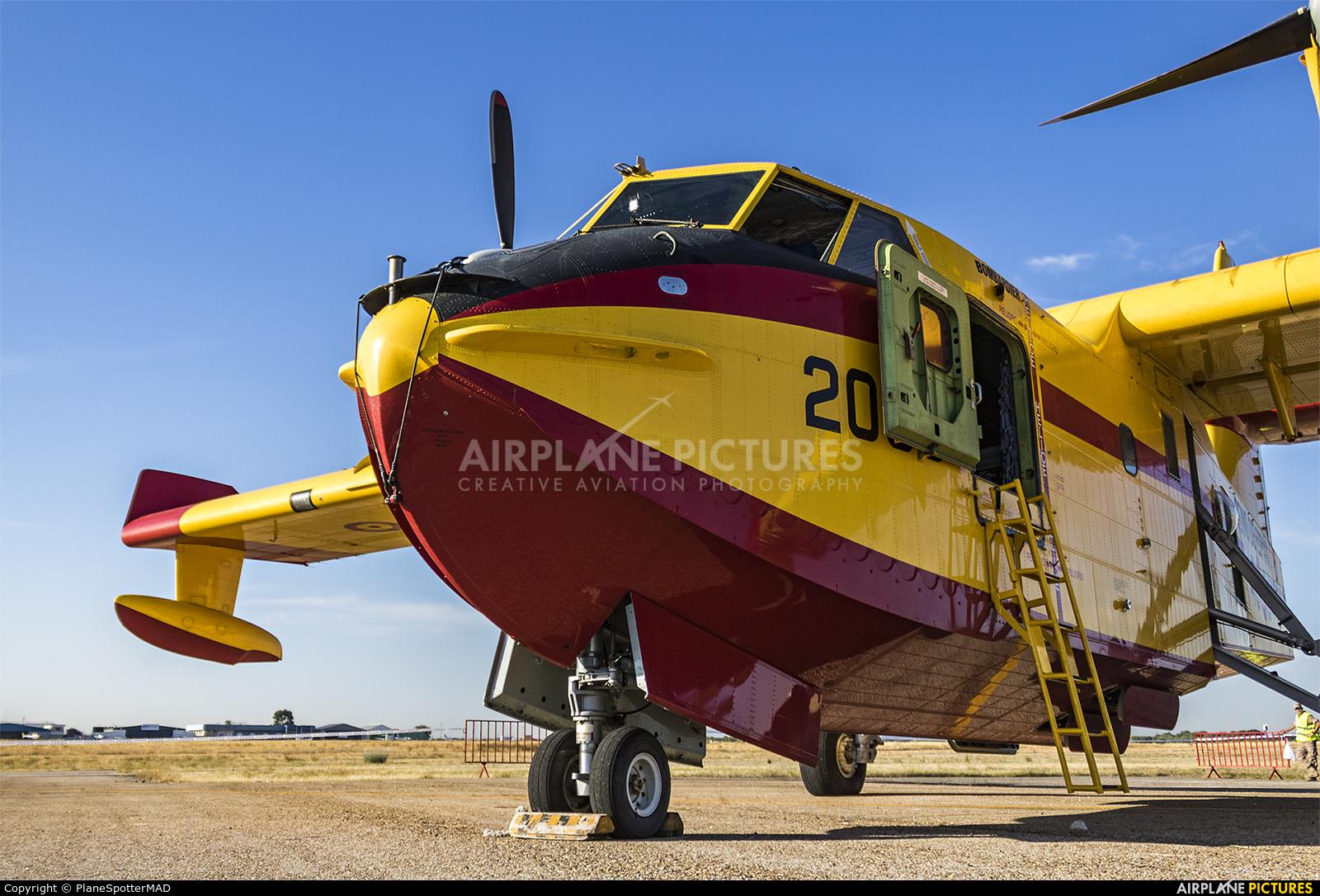 Spain - Air Force UD.14-04 aircraft at Madrid - Cuatro Vientos