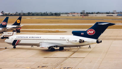 YU-AKG - JAT - Yugoslav Airlines Boeing 727-200