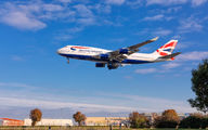G-CIVT - British Airways Boeing 747-400 aircraft