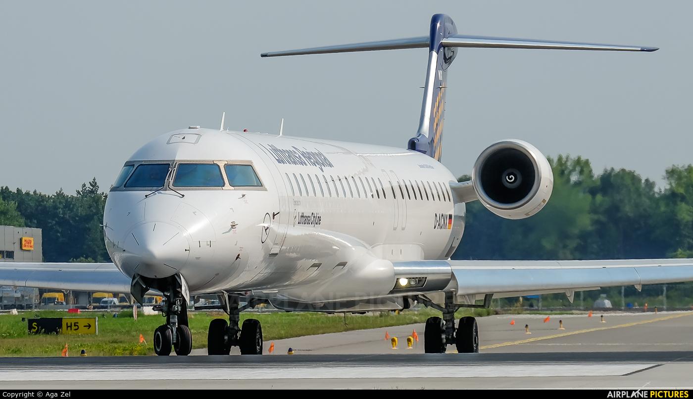Lufthansa Regional - CityLine D-ACNI aircraft at Katowice - Pyrzowice