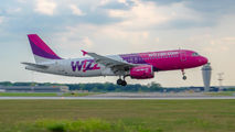 HA-LPR - Wizz Air Airbus A320 aircraft
