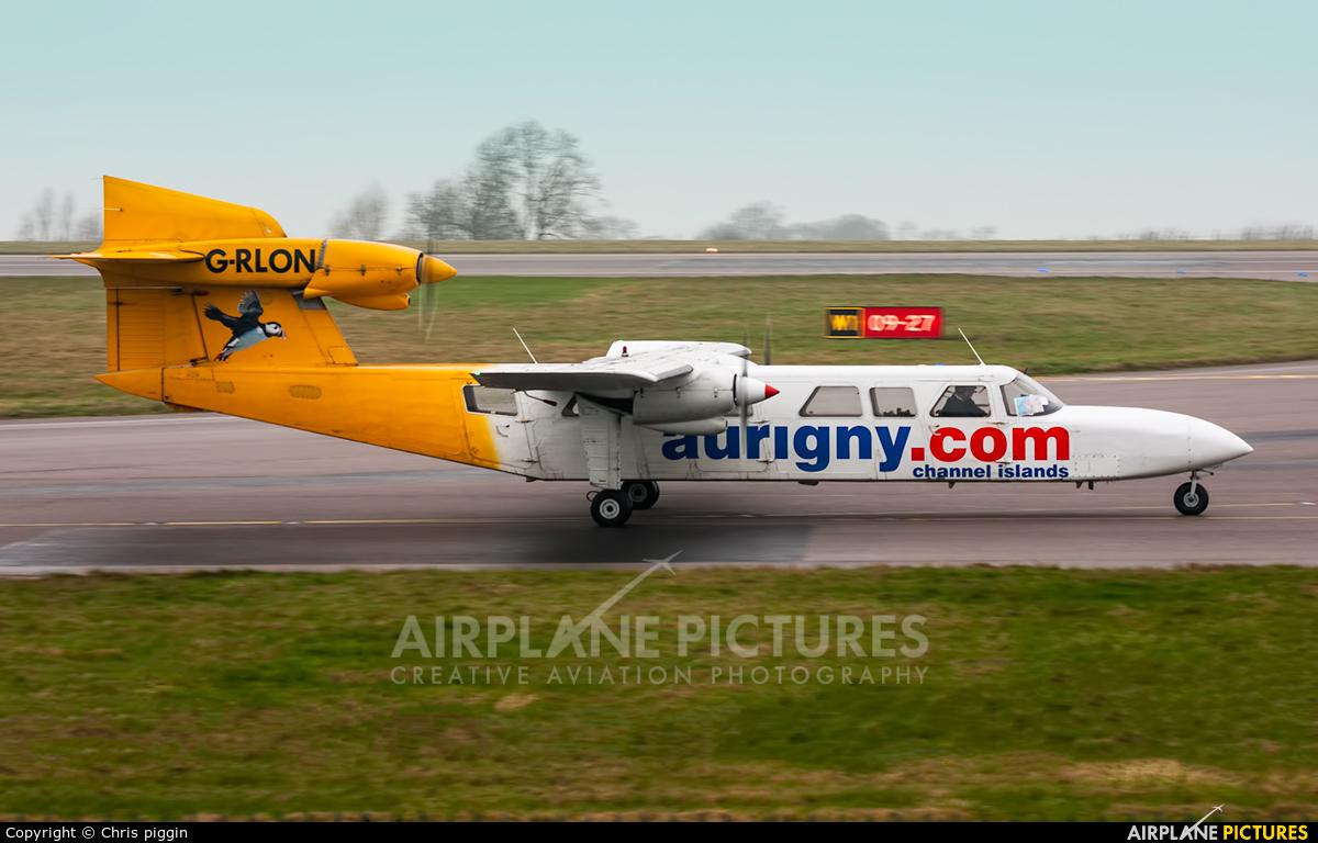 Aurigny Air Services G-RLON aircraft at East Midlands