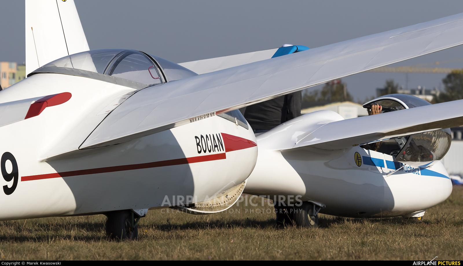Aeroklub Warszawski SP-3879 aircraft at Warsaw - Babice