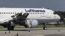 D-AIQF - Lufthansa Airbus A320 aircraft