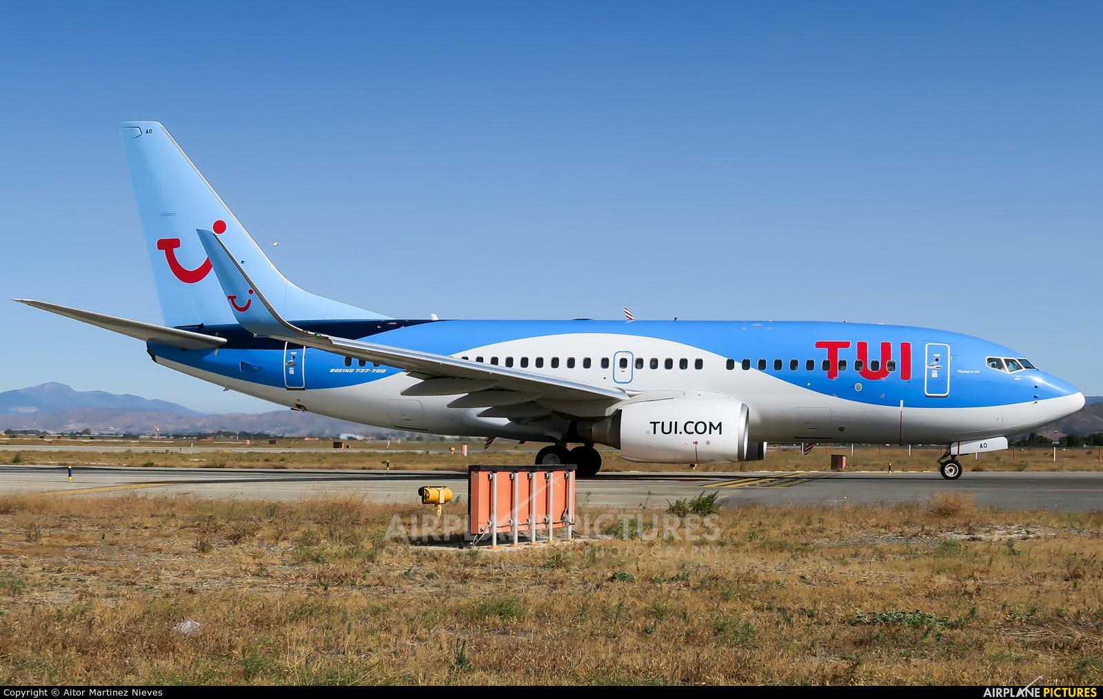 TUI Airlines Belgium OO-JAQ aircraft at Málaga