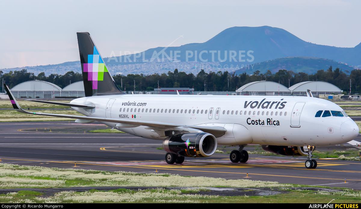 Volaris N526VL aircraft at Mexico City - Licenciado Benito Juarez Intl