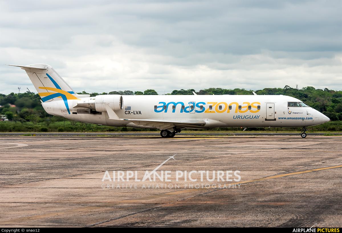Amaszonas Uruguay CX-LVA aircraft at Asuncion - Silvio Pettirossi Intl