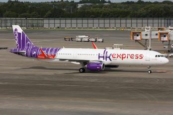 B-LEB - Hong Kong Express Airbus A321