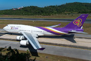 HS-TGP - Thai Airways Boeing 747-400 aircraft