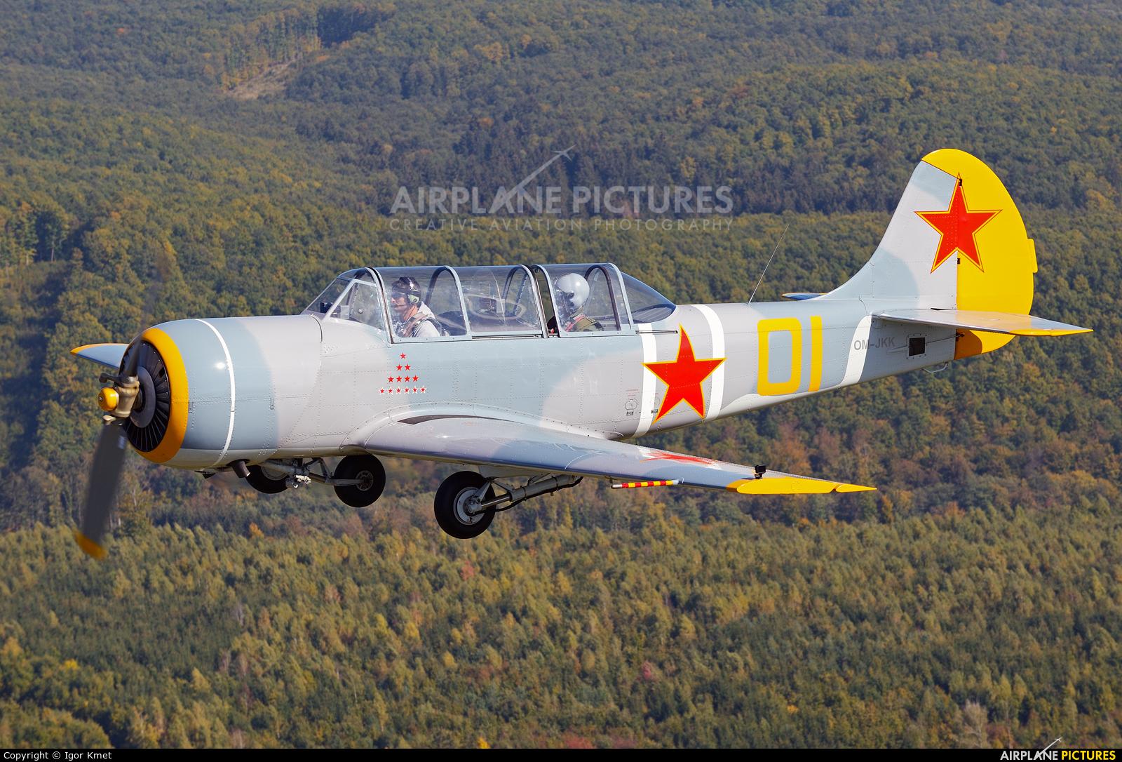 Private OM-JKK aircraft at Očová