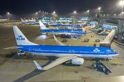 PH-BXB - KLM Boeing 737-8K2 aircraft
