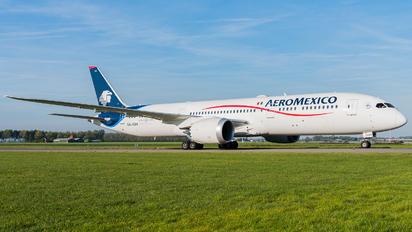 XA-ADH - Aeromexico Boeing 787-9 Dreamliner