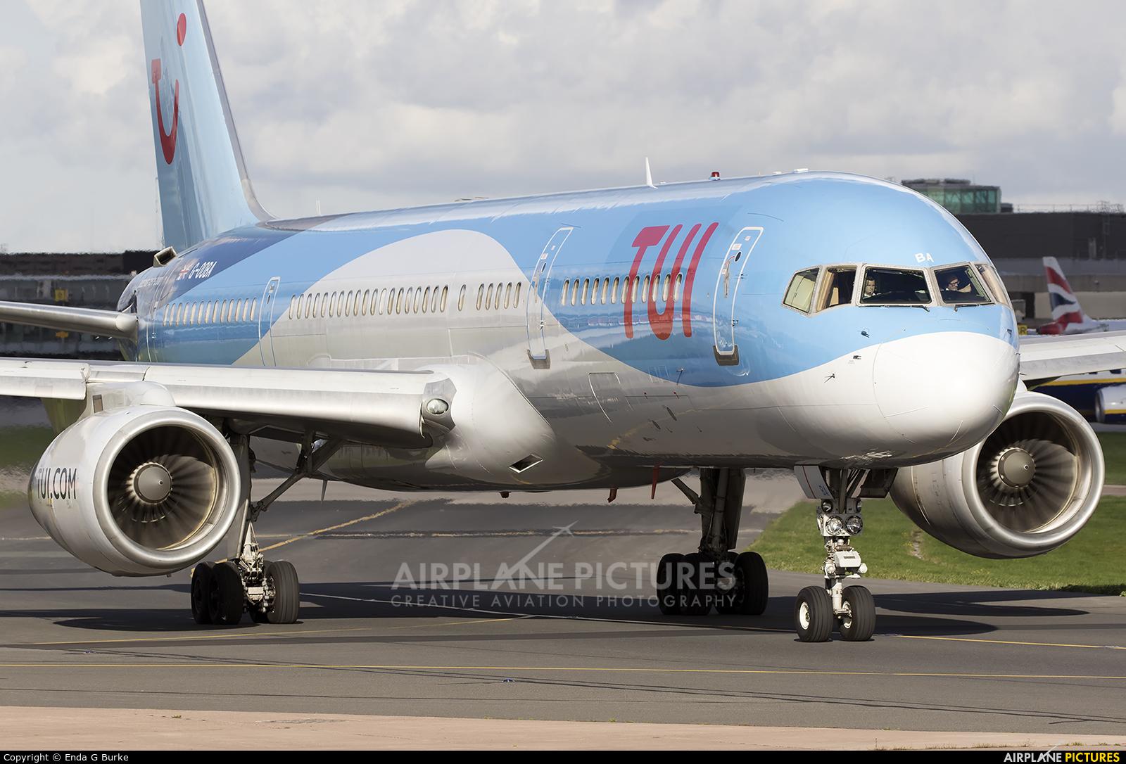 TUI Airways G-OOBA aircraft at Manchester