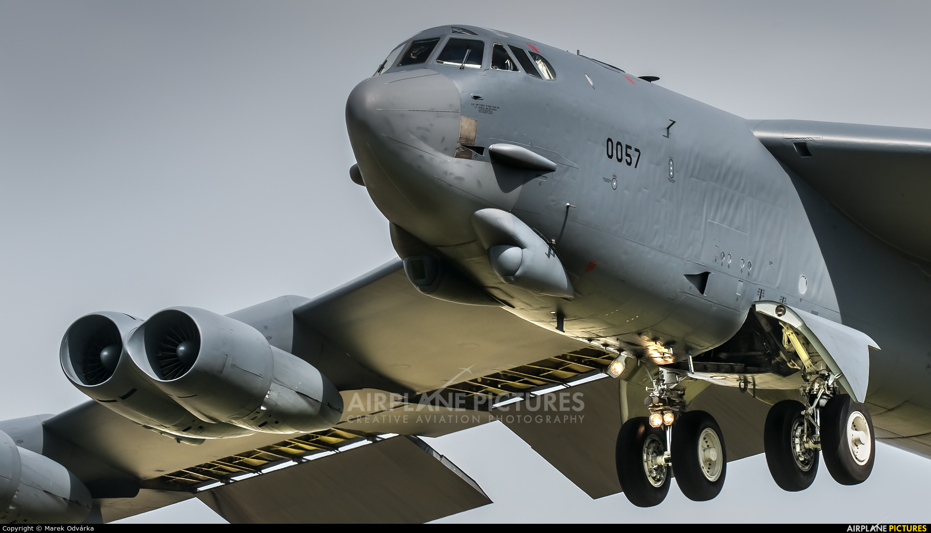 USA - Air Force AFRC 60-0057 aircraft at Ostrava Mošnov