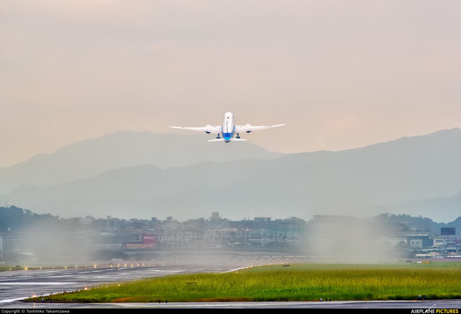 ANA - All Nippon Airways JA838A aircraft at Taipei - Sung Shan