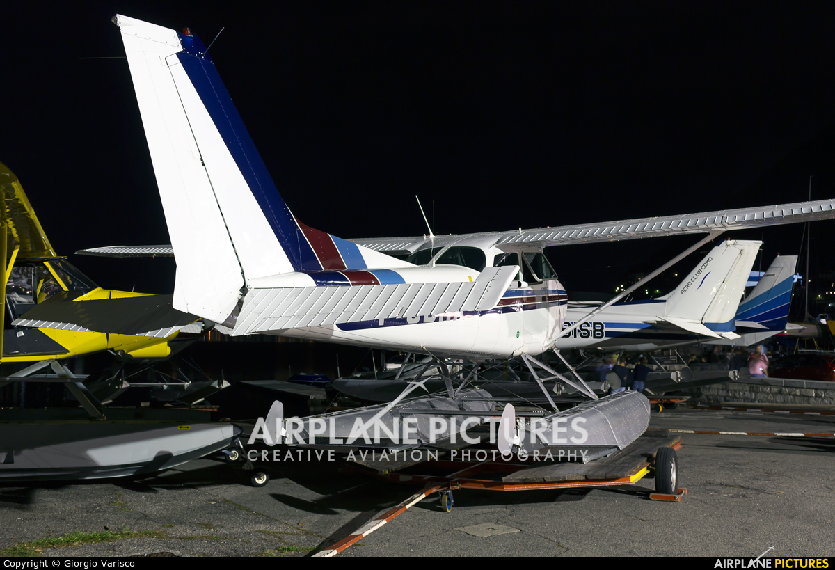 Aero Club Como I-GDRX aircraft at Como Idroscalo