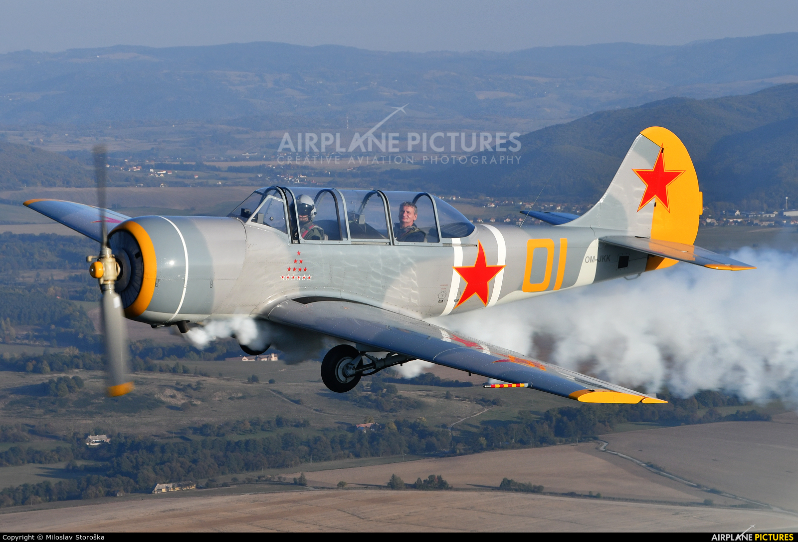 Private OM-JKK aircraft at In Flight - Slovakia