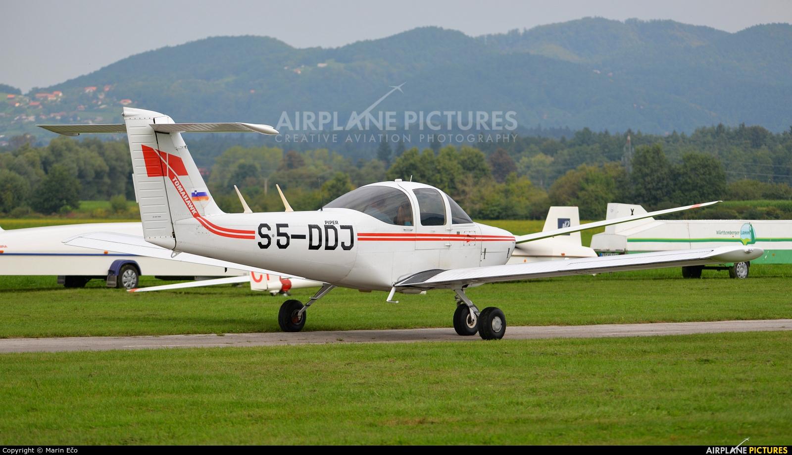 Aeroklub Celje S5-DDJ aircraft at Levec