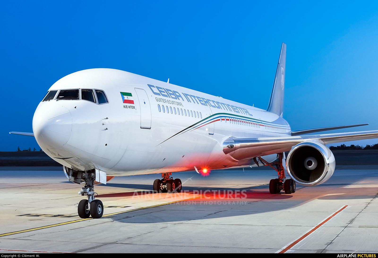 Ceiba Intercontinental 3C-LLU aircraft at Chalons Vatry Airport