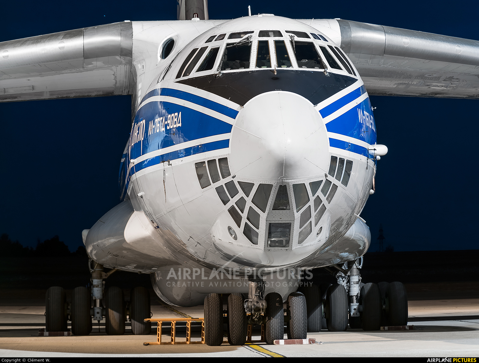 Volga Dnepr Airlines RA-76511 aircraft at Chalons Vatry Airport