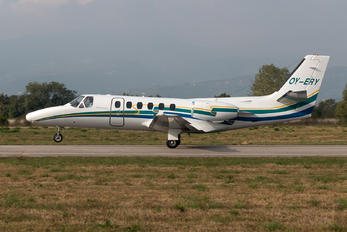 OY-ERY - Private Cessna 550 Citation II