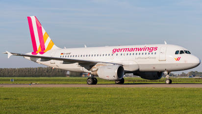 D-AKNF - Germanwings Airbus A319